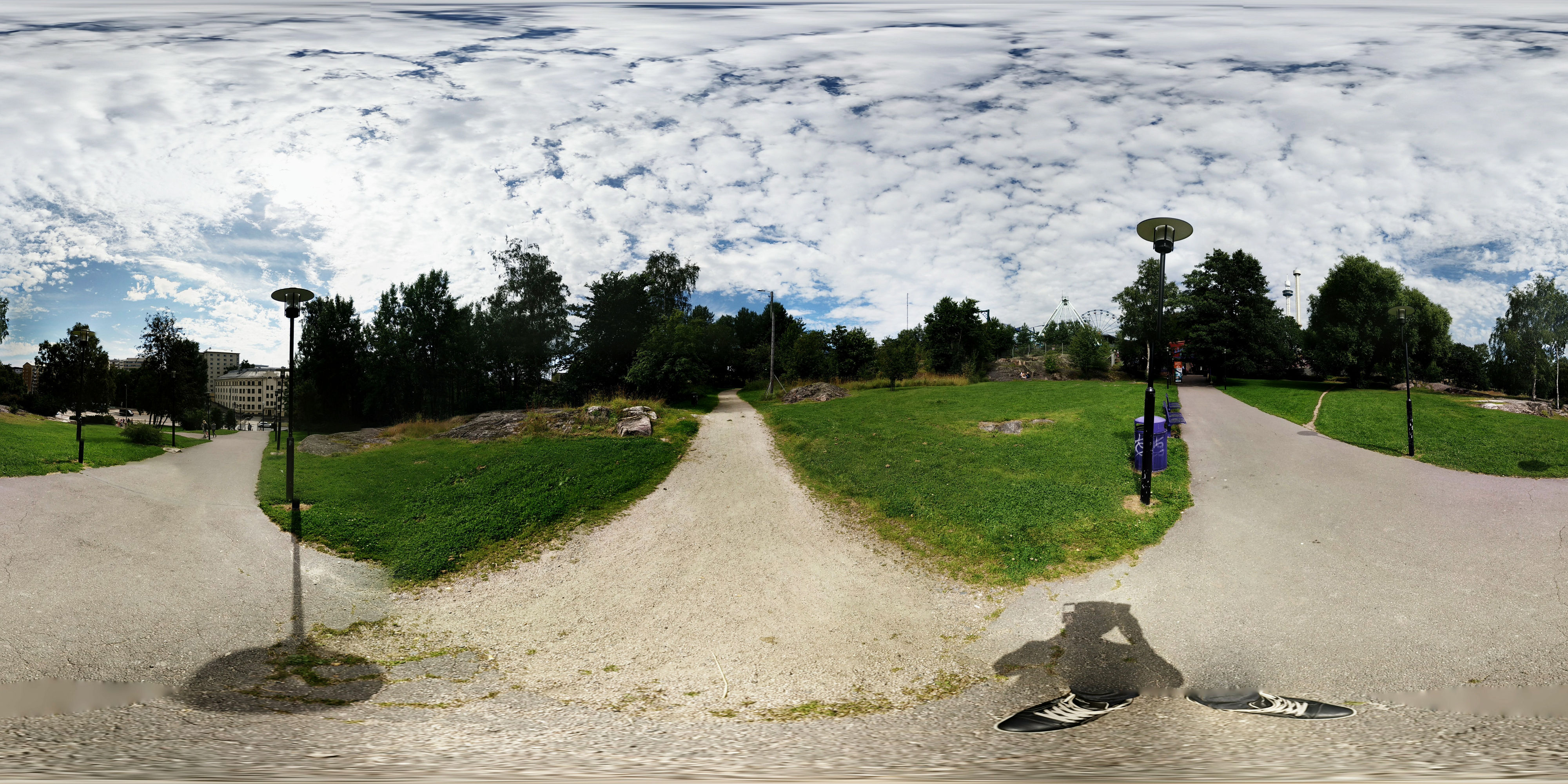 PhotoSphere images as interactive 360° by 180° panoramas